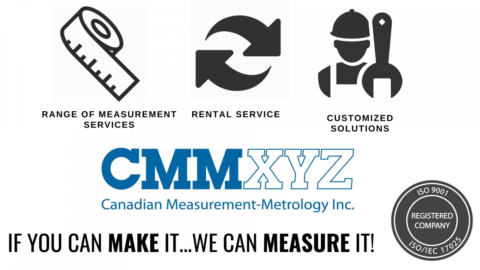 Measurement Services - Rentals, Customized Solutions